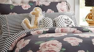Camo Duvet Cover The Emily U0026 Meritt Bed Of Roses Duvet Cover Sham Black U0026 Blush