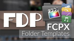 how to use fcpx folder templates with final cut pro x youtube