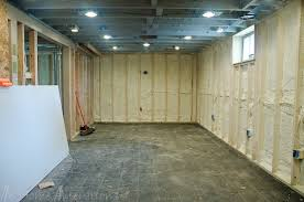 Proper Way To Insulate Basement Walls by Clever Ideas Best Insulation For Basement Walls Classy Design Way