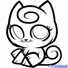siamese cat cartoon coloring home