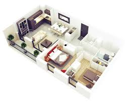 2 Bedroom House Plans 25 More 2 Bedroom 3d Floor Plans Amazing Architecture Magazine