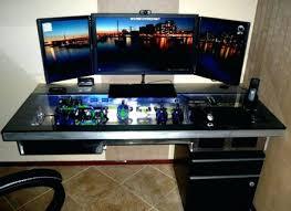 Desk With Computer Built In Computer Built Into Desk Eulanguages Net
