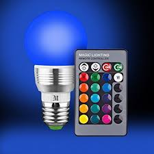 retro led color changing light bulb with remote 16