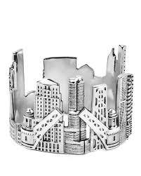 chicago skyline ring shop silver cityscape rings by citimi g u0026c