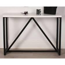 wood and metal sofa table trestle console u0026 sofa tables you u0027ll love wayfair