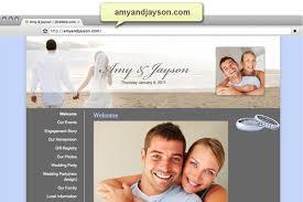 wedding planning websites create your wedding website