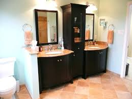 Linen Cabinet For Bathroom The Inspiring Bathroom Vanity Linen Cabinet Combo And Custom On In