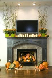 Mantel Fireplace Decorating Ideas - fireplace decorating ideas for fall your home decorate mantel high