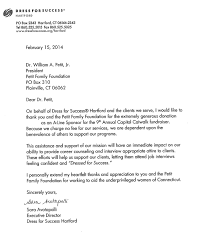 Sample Letter Of Intent For A Higher Position by Petit Family Foundation Grants Awarded