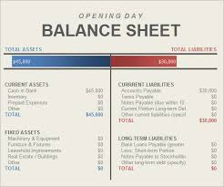 accounting balance sheet template excel excel template balance