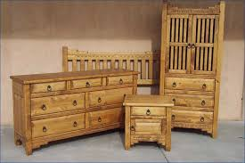 Southwest Bedroom Furniture New Mexico Bedroom Set Honey Stain Furniture For New House