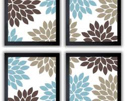 Brown And Blue Wall Decor Interesting Ideas Blue And Brown Wall Decor Vibrant Idea