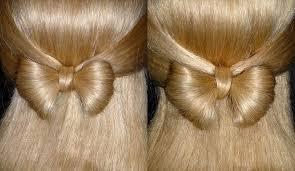 Frisuren Lange Haare F Kinder by Haarschleife Sehr Einfach Schleifen Frisur Für Mittel Lange Haare