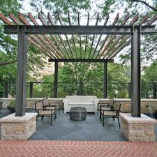 Wood Pergola Designs And Plans by 25 Best Steel Pergola Ideas On Pinterest Pergolas Wooden