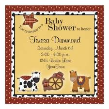 331 best cowboy baby shower invitations images on baby
