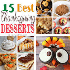 15 best thanksgiving desserts kleinworth co