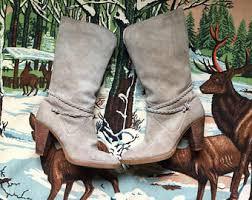 womens cowboy boots size 9 1 2 black leather cowboy boots vintage black leather cowboy boots