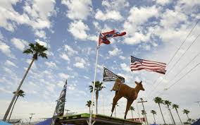 Battle Flags Of The Confederacy Suspensions After High Rebel Flag Rally Al Jazeera America