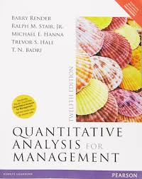amazon in buy quantitative analysis for management 12e book