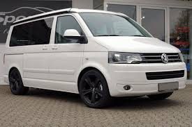 black volkswagen bus vw bus t5 multivan wheels for cartype 7hm 7hma mbdesign