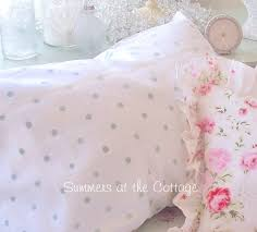 Polka Dot Comforter Queen Cottage Polka Dots Mint Green On White Cotton Sheet Set Twin