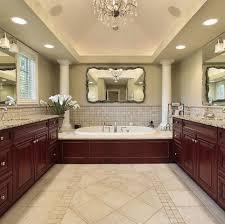 Travertine Bathroom Ideas Bathrooms With Dark Cabinets Design
