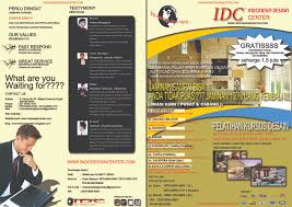kursus design grafis jakarta brosur kursus kursus design interior terbaik dan termurah 021