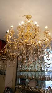 chandelier kitchen lighting flush mount font b gold chandelier crystal lights lights