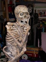 Plastic Halloween Skeletons 14 Over The Top Halloween Decorations To Terrify Trick Or Treaters