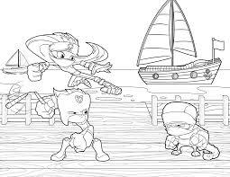 gumchucks kids u2013 coloring book pages