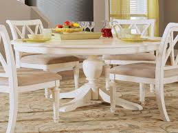 dining room american drew camden round dining table in whi 1910