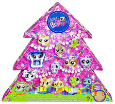 amazon com littlest pet shop christmas advent calendar toys u0026 games