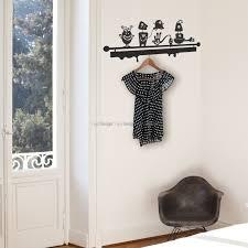 monsters coat hanger wall decal coat hangers wall decals monsters coat hanger wall decal