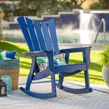 belham living ocean wave adirondack chair cobalt hayneedle