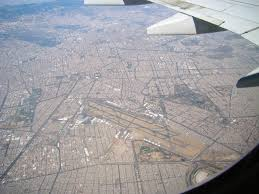 Mexico City Airport Map File Aerial View Of Mexico City Airport On 3 21 11 Jpg Wikimedia