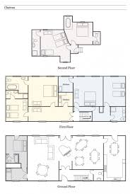popular floor plans bed design chateau and breakfast designs le castel normandy