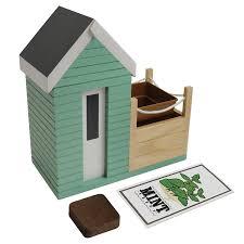 indoor allotment herb garden set amazon co uk kitchen u0026 home