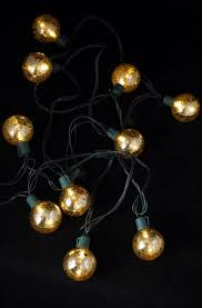 lighting intriguing mercury glass globe string lights setting