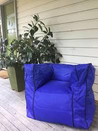 mozzi bean bag indoor outdoor water resistant large lounge pool