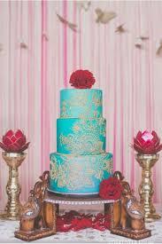 Ornate And Eye Catching Indian Wedding Cakes Letterpress Wedding
