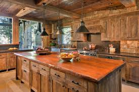 Rustic Cabin Kitchen Ideas by Cabin Kitchen Design With Worthy Warm Cozy Rustic Kitchen Designs