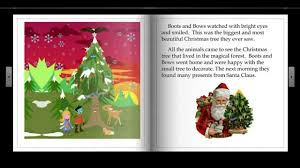 the magical christmas tree in the forest a story about