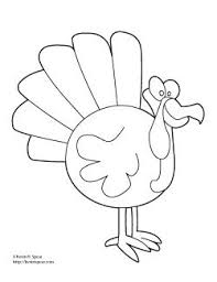 thanksgiving turkey coloring page kevin h spear