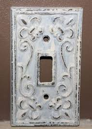 Shabby Chic Light Switch Covers by Vintage French Chic Light Switch Plate Cover Single Cover Shabby