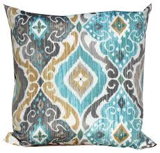 mist outdoor throw pillows square set of 2 modern