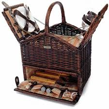 wine picnic baskets classic elite picnic basket bbq combo
