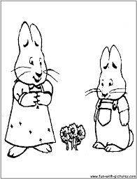 max and ruby coloring pages free printable colouring pages for