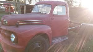 Old Ford V8 Truck - 1949 1950 1951 ford f6 f600 flathead v8 nice truck rod hauler rat