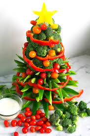 veggie christmas tree how to video kelley and cricket