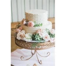 rose gold cake stand wayfair
